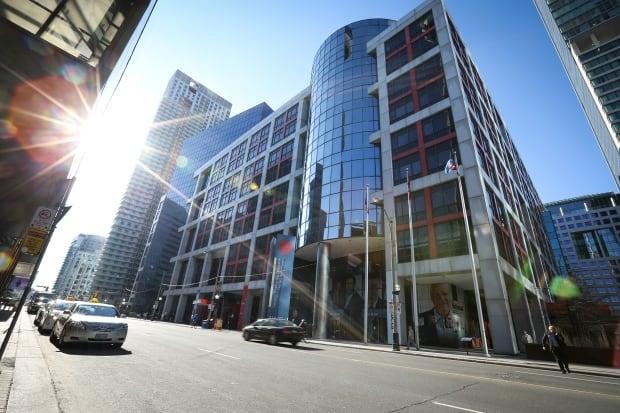 CBC Broadcast Centre Toronto Apr 9 2014