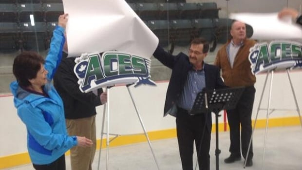 The new Maritime Junior A Hockey team based in St. Stephen will be called the County Aces.
