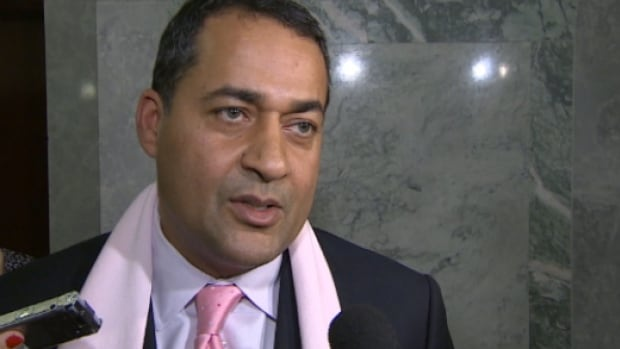 Liberal leader Raj Sherman believes a series of contracts under $75,000 were given to Navigator Ltd. to avoid having to put them out to public tender.