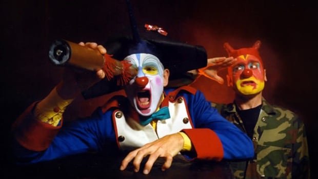 Everyone's favourite pair of scary clowns are back in Edmonton with a new show.