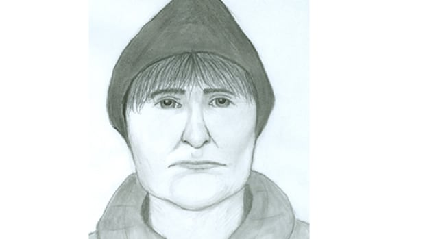 Winnipeg police have released this sketch of a man wanted for the attempted abduction of a 17-year-old girl near St. Vital Centre on March 29.