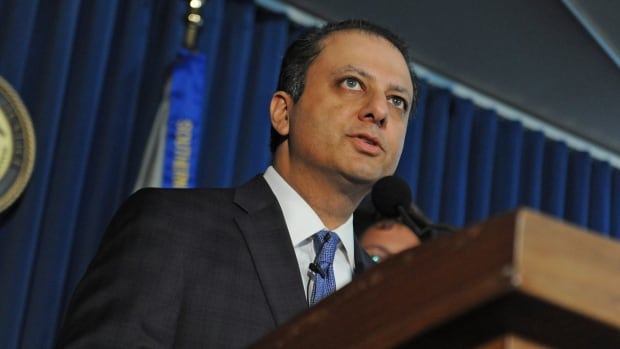 U.S. Attorney Preet Bharara speaks about the SAC Capital Advisors case at a press conference Nov. 4, 2013, in New York.