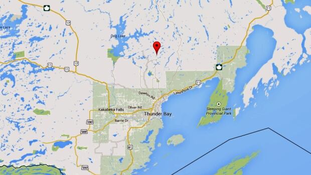 Sunday Lake is located in Jacques Township north of Thunder Bay.