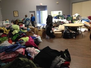 Penhold fire donations