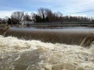 Huntingdon flooding Ainslie
