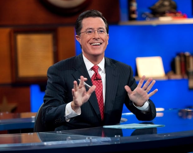 TV-Colbert-Get Lucky Colbert Report 2010