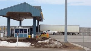 Confederation Bridge toll booth