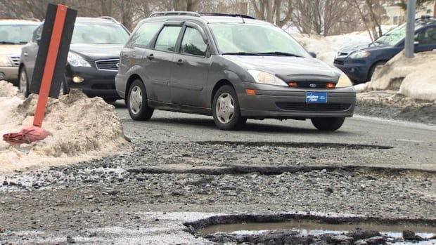 The City of St. John's says four to eight crews have been working eight to 12 hours a day, six days a week, to keep up with pothole repair.