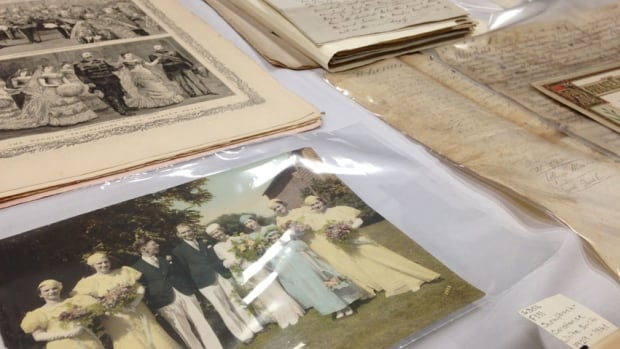 The oldest document in the New Brunswick Museum's wedding archives presentation dates back to 1753.