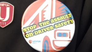 Bus drivers worry about driver safety