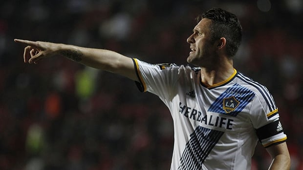 Robbie Keane, shown in this file photo, scored the lone goal on Saturday night for the L.A. Galaxy in a win against the Vancouver Whitecaps.