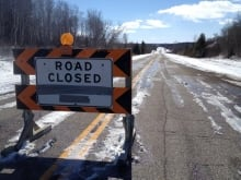 Highway 5 closed
