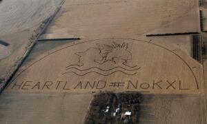 Nebraska Keystone XL pipeline protest