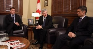 Harper, Baird meet with NATO ambassadors