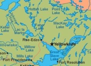 Hottah Lake, N.W.T.