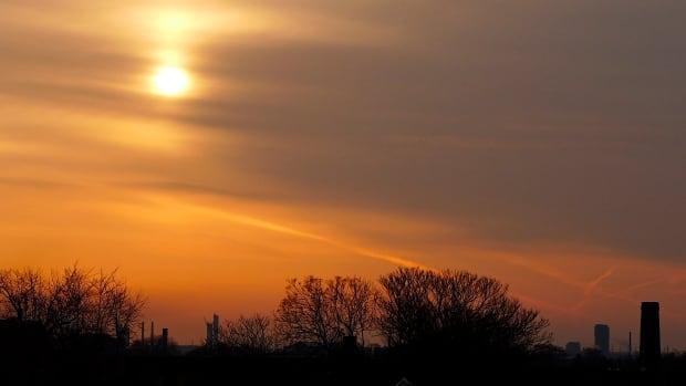 Hamilton sunrise