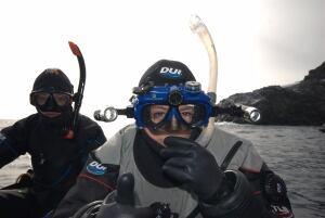 Susan Eaton snorkeling