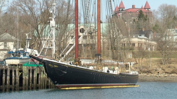 The Bluenose II remains docked in Lunenburg, N.S.