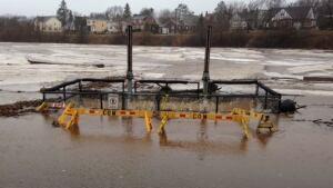 Jones Lake flooded
