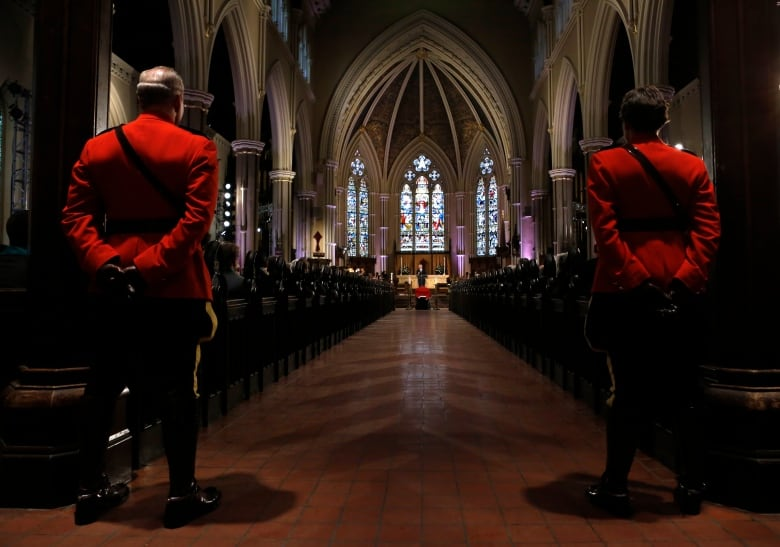 flaherty funeral st james cathedral toronto apr 16 2014