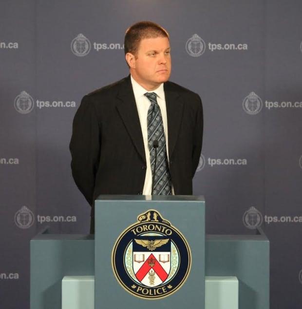 Toronto police Det.-Sgt. Hank Idsinga
