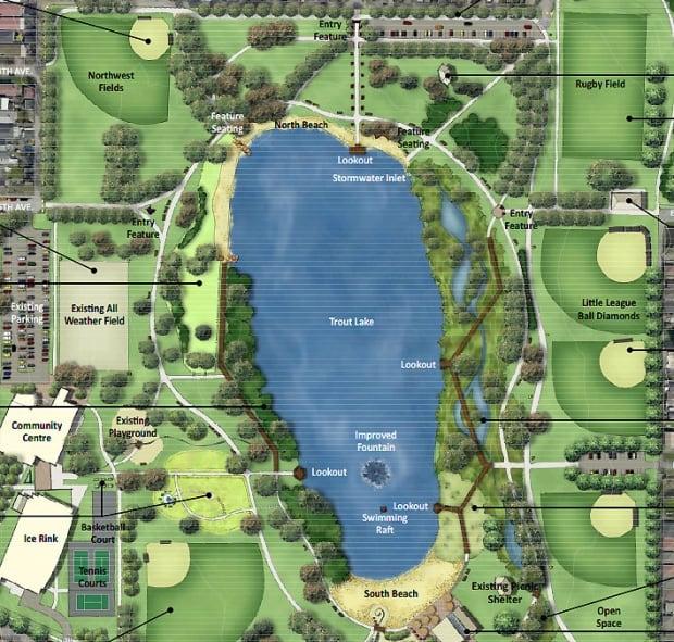 Trout Lake Map