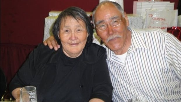Elizabeth and Peter Alareak have been sent out of Arviat four times for medical appointments that were never booked. 'I've been married to her for 54 years and I have known her to be a very patient woman, and she's starting to complain a bit,' Peter says.