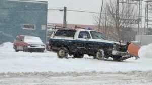 truck plow thunder bay