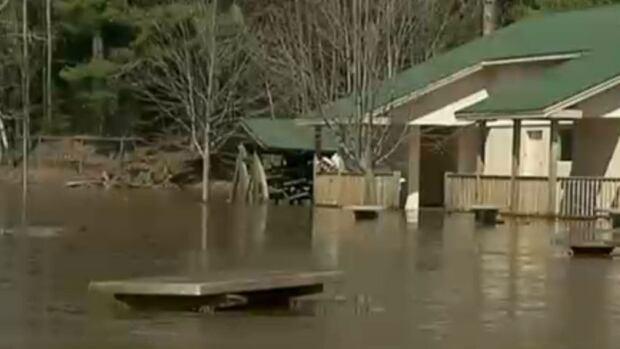 Centennial Park flooding
