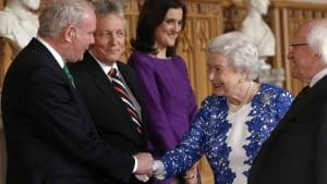 queen mcguinness handshake