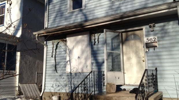 A 26-year-old man was arrested Thursday in connection with a fire on Langside Avenue.