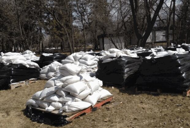 sandbags cloutier drive
