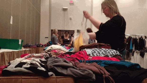 Organizers of the 'Take Your Clothes Off' fundraiser Saturday said the event appeals to Winnipeggers' frugality.