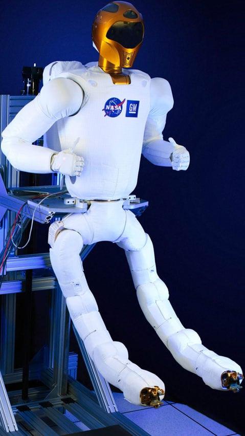 NASA's International Space Station humanoid, Robonaut, finally gets its legs