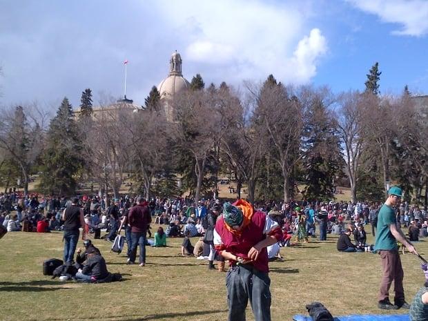 4/20 rally Edmonton