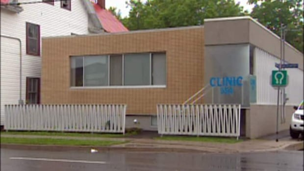 The Morgentaler Clinic in Fredericton, N.B., seen here in a file image, announced earlier this month it would be closing in July after a 20-year battle with the provincial government for funding.