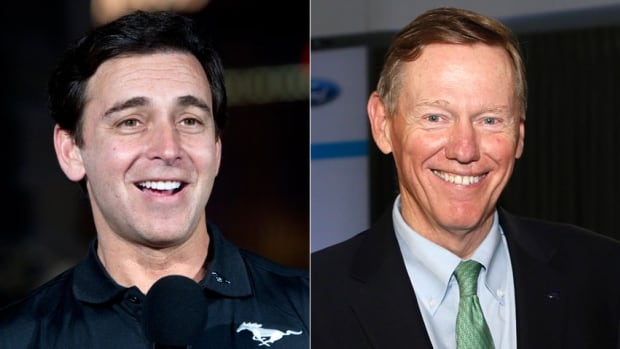Ford Motor Co. chief operating officer Mark Fields, left, is set to replace Alan Mulally as CEO of the second-largest U.S. automaker, according to a Bloomberg report citing anonymous sources.