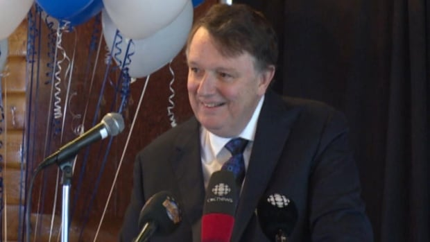 Frank Coleman launched his candidacy for the PC leadership in March.