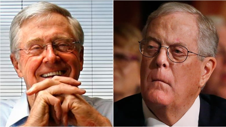 Charles David Koch We Know Who You Are >> The Koch Brothers Who Are They And Why Do Democrats Hate Them