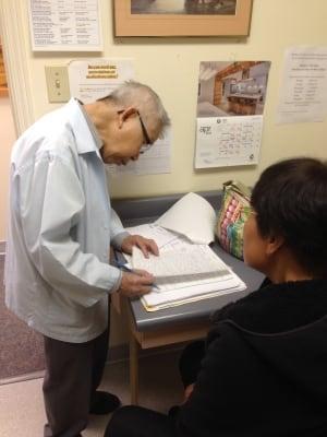 Dr. Yan So (at work)
