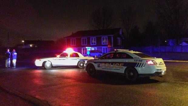 Police in Richelieu are investigating the shooting of a 44-year-old man in a residential neighbourhood on Tuesday night.