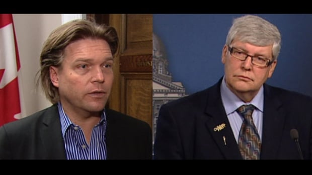 Both interim Premier Dave Hancock and Labour Minister Thomas Lukaszuk claim there is no political involvement in freedom of information requests that are reviewed by political staff prior to their release.