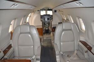 2003 Piaggio Avanti P180 interior