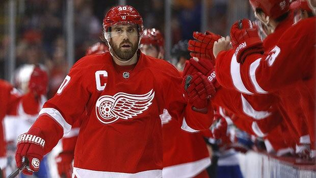 Henrik Zetterberg's last NHL game was Feb. 8.