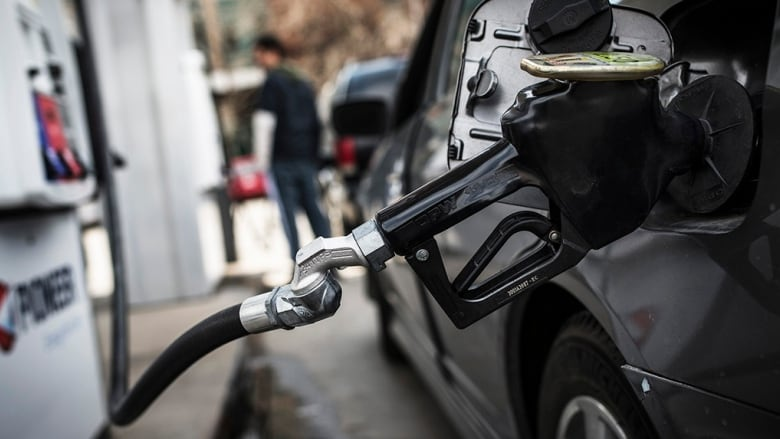 Fuel prices creep up across the board in N L    CBC News