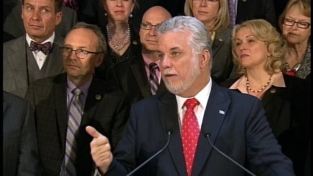 Premier Philippe Couillard says Quebec's deficit is more than $3.1B, not $2.5B as previously reported.