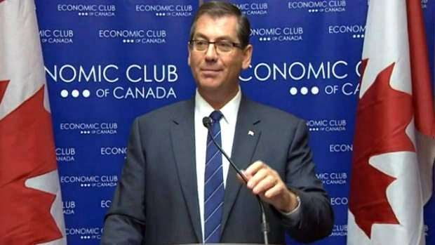 Kevin Sorenson, Canada's minister of state for finance, unveiled a new type of pension plan during a speech in Toronto, April 24. Target benefit pension plans will occupy a middle ground between the existing defined benefit and defined contribution plans.