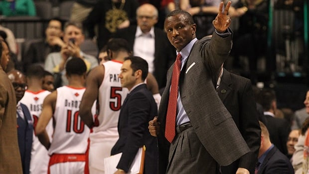 Dwane Casey says his Toronto Raptors are growing and learning from their playoff experience in 2014.