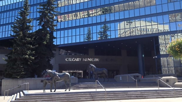 The city says Calgary's City Hall, also known as the municipal or blue building,  is in need of some major repairs over the next 10 years.