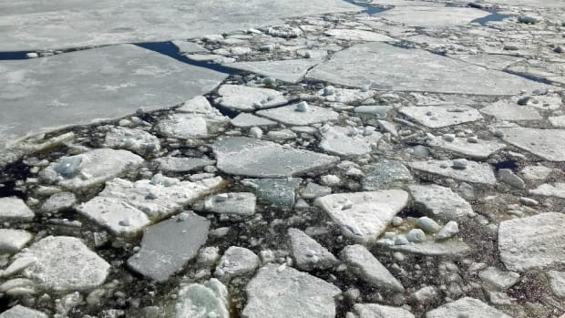 A U.S. researcher says Lake Superior is still about two thirds frozen, and has 10 times the ice cover it had on this date in 2009.